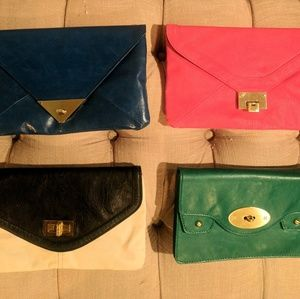 4 Various Clutch Bags